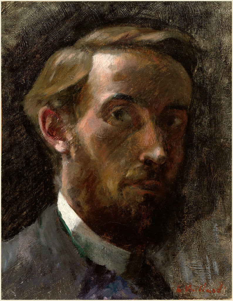 Detail of Self-Portrait, Aged 21, 1889 by Edouard Vuillard