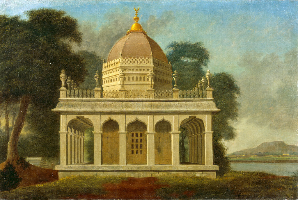 Detail of Mausoleum at Outatori near Trichinopoly, Francis Swain Ward, ca. 1734-1794 by Swain Ward