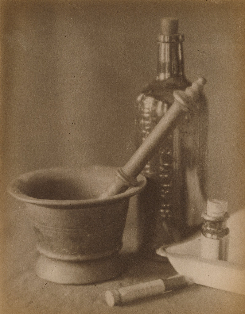 Detail of Darkroom Still Life by Doris Ulmann