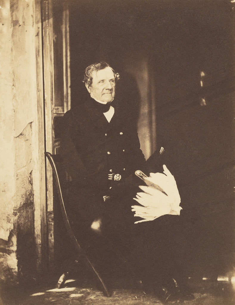 Detail of Field Marshall Lord Raglan by Roger Fenton
