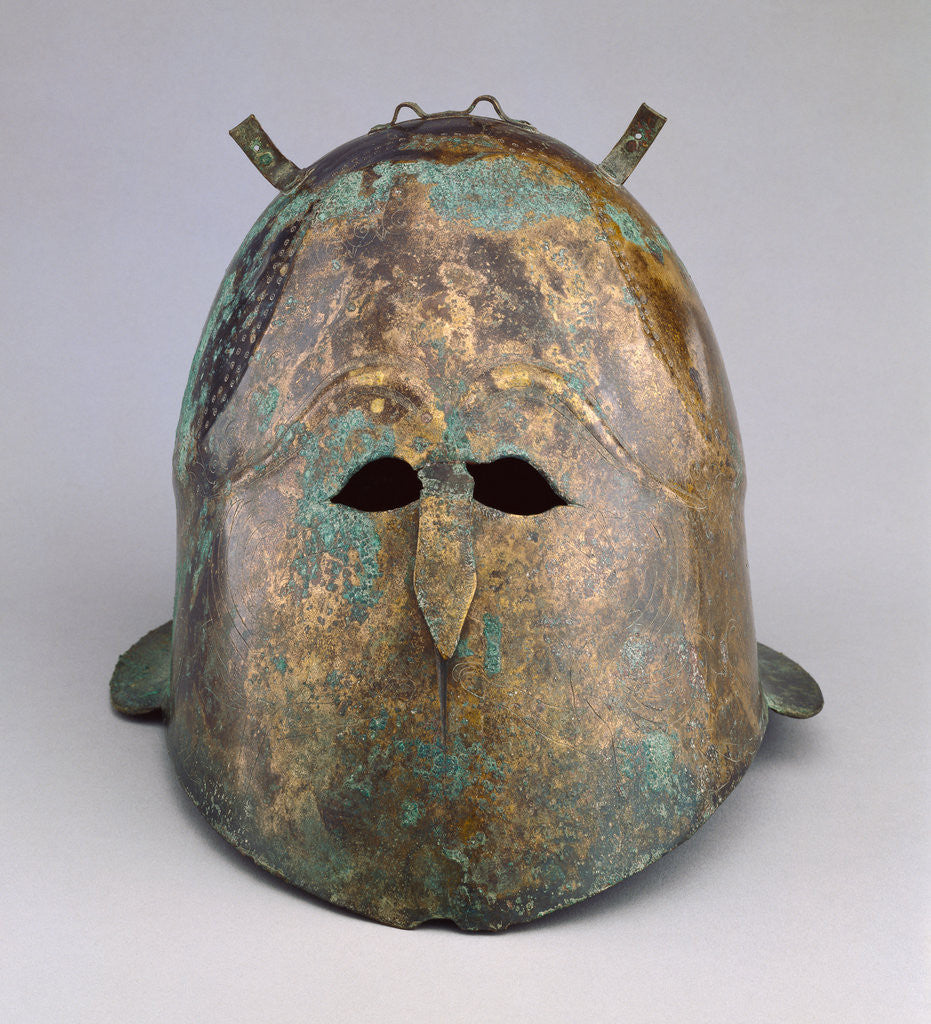 Detail of Helmet by Anonymous