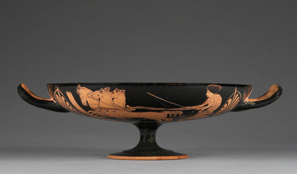 Detail of Attic Red-Figure Cup by the Marlay Group