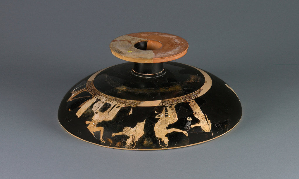 Detail of Attic Red-Figure Cup Type A by Psiax