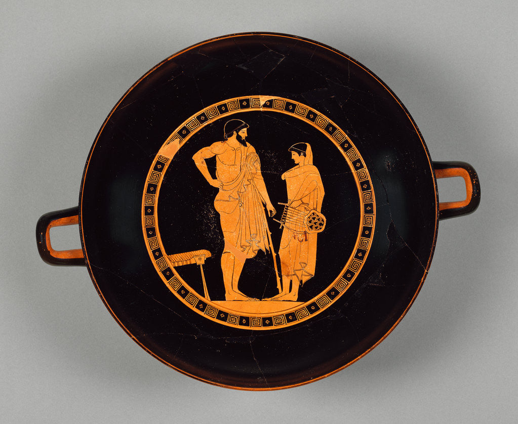 Detail of Attic Red-Figure Cup by Douris