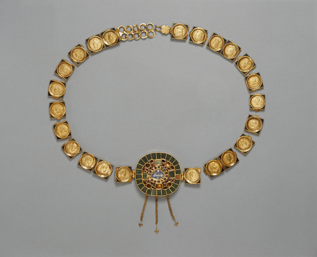 Detail of Belt with Central Medallion by Anonymous