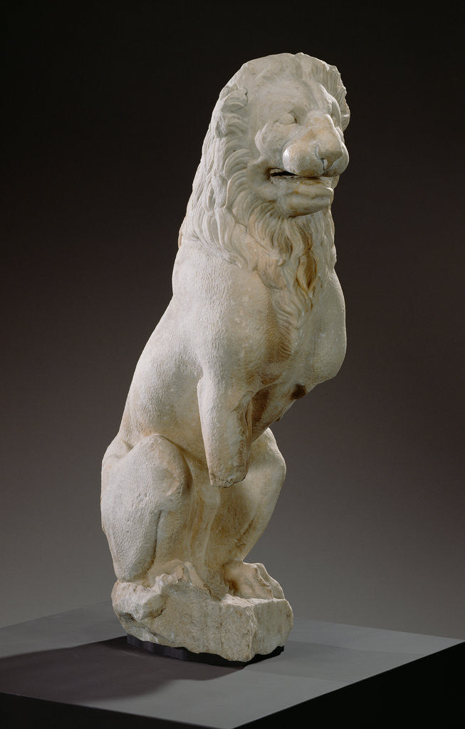 Detail of Funerary Lion by Anonymous