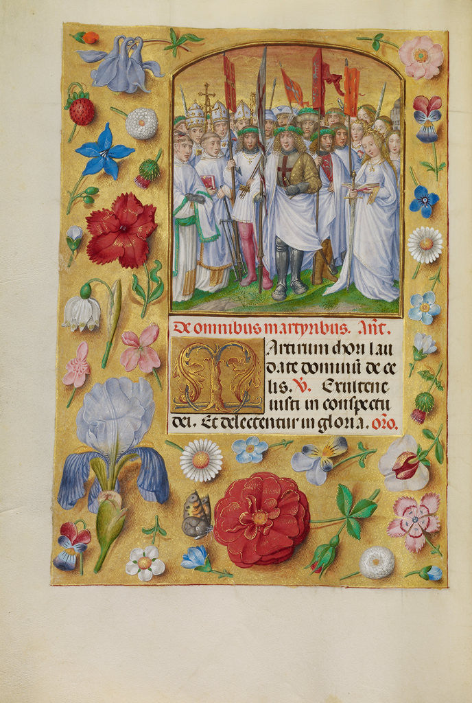 Detail of All Saints by Master of James IV of Scotland