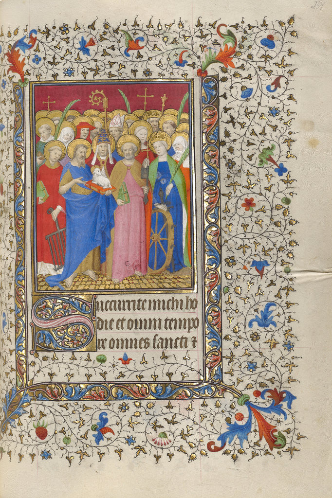 All Saints by Workshop of the Boucicaut Master