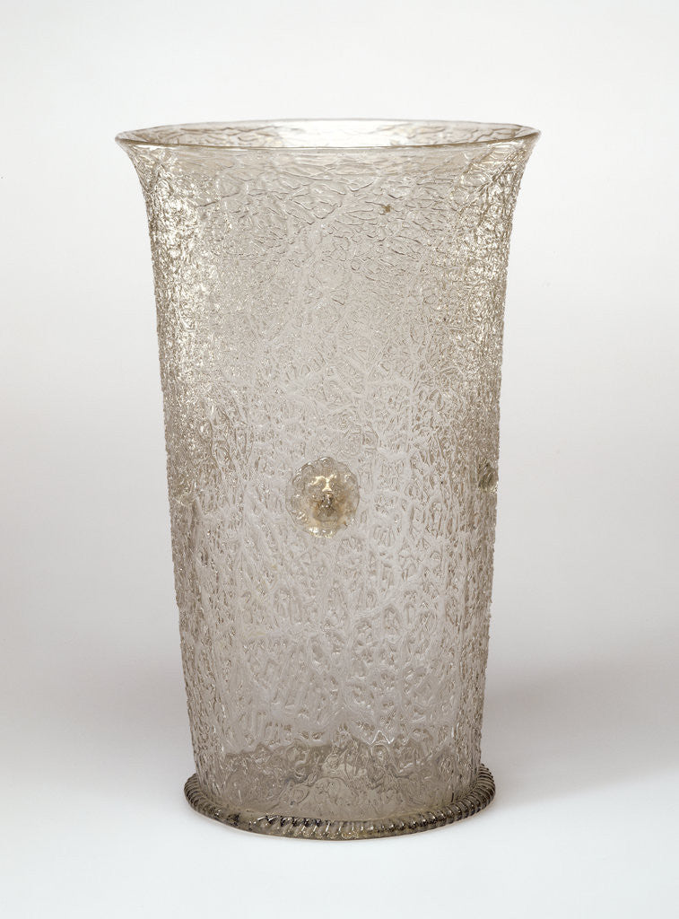 Detail of Ice-Glass Beaker by Anonymous