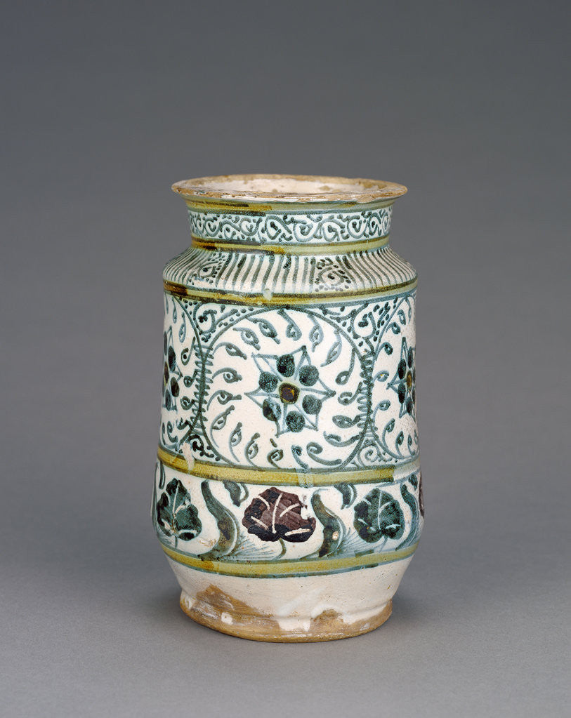 Detail of Jar with Foliate Decoration by Anonymous