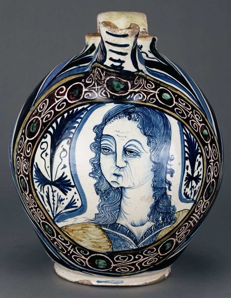 Detail of Jug with Bust Medallion by Anonymous