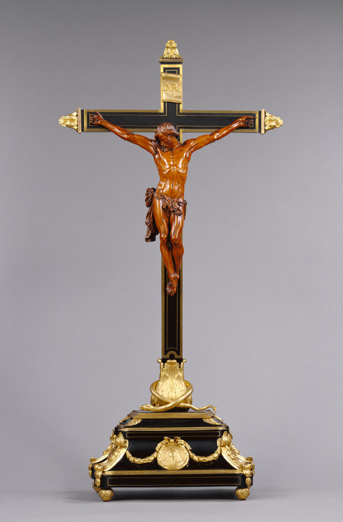 Detail of Corpus and Cross (Crucifix) by Anonymous