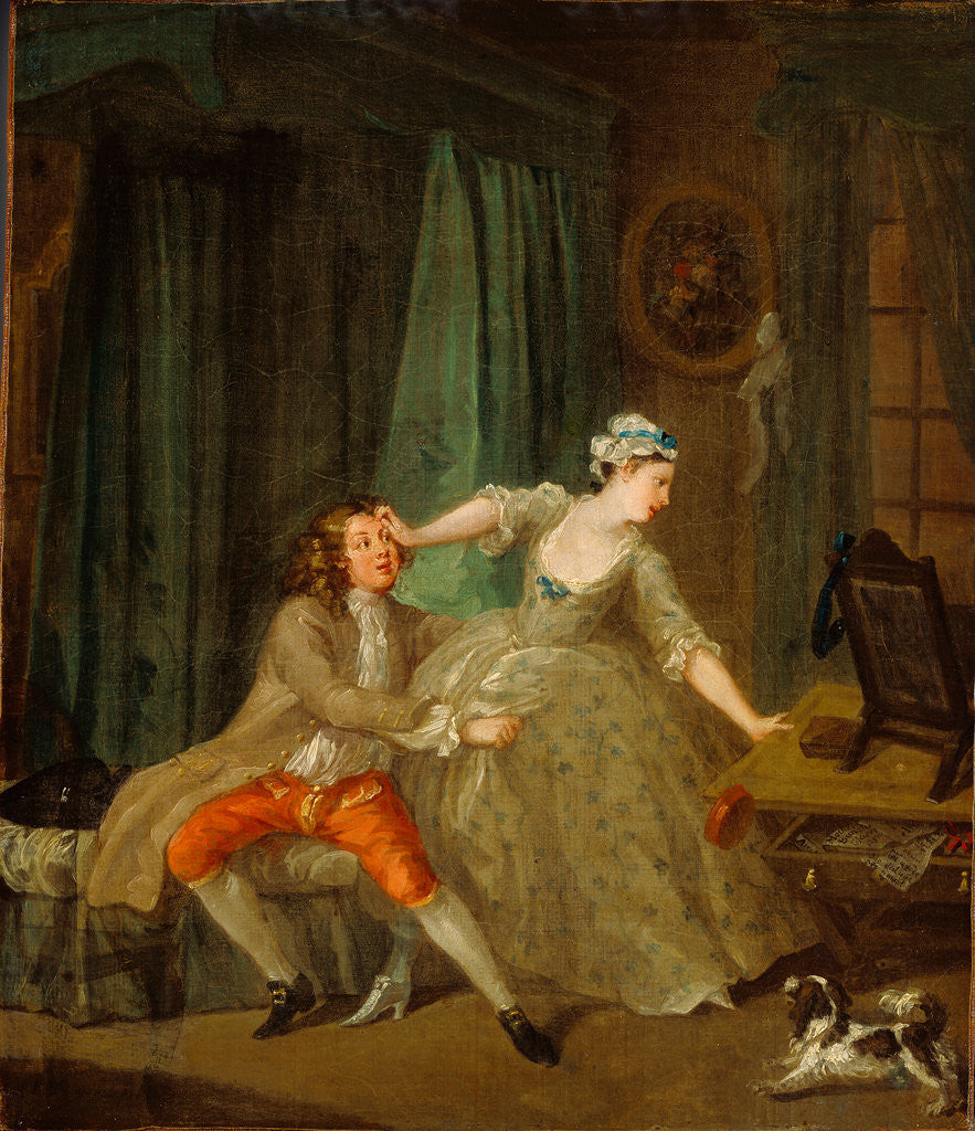 Detail of Before by William Hogarth