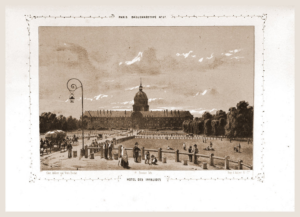 Hotel des Invalides, Paris and surroundings by M. C. Philipon