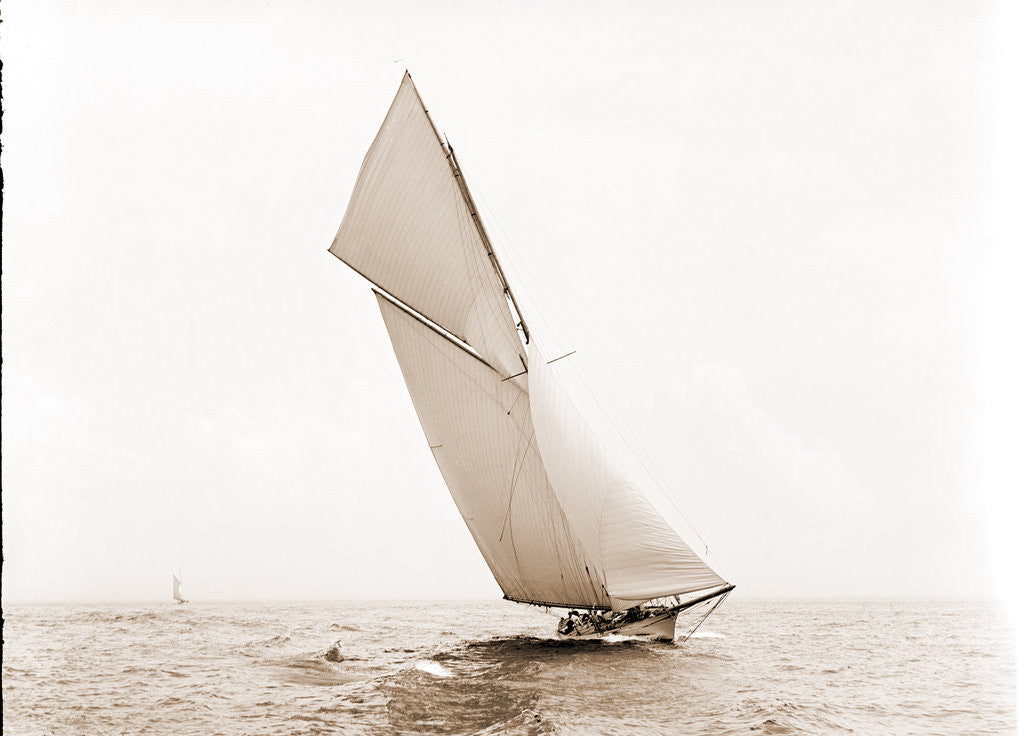 Detail of Alborak (Sloop), 1891 by Anonymous