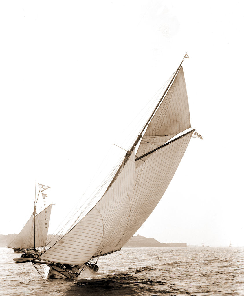 Detail of Chispa (Yacht) by Anonymous
