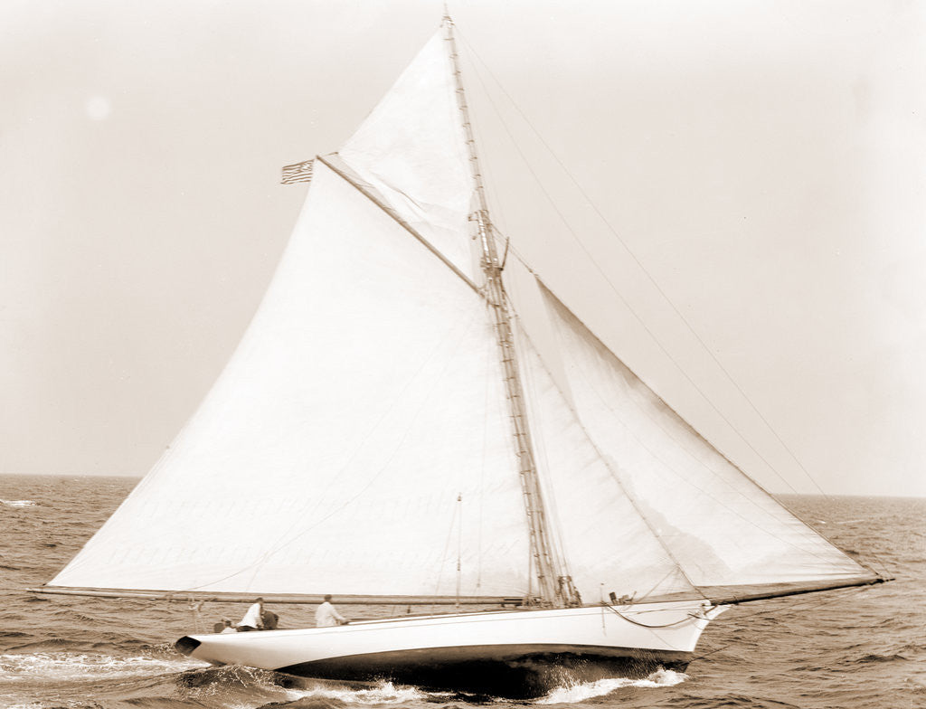 Detail of Awa (Yacht) by Anonymous