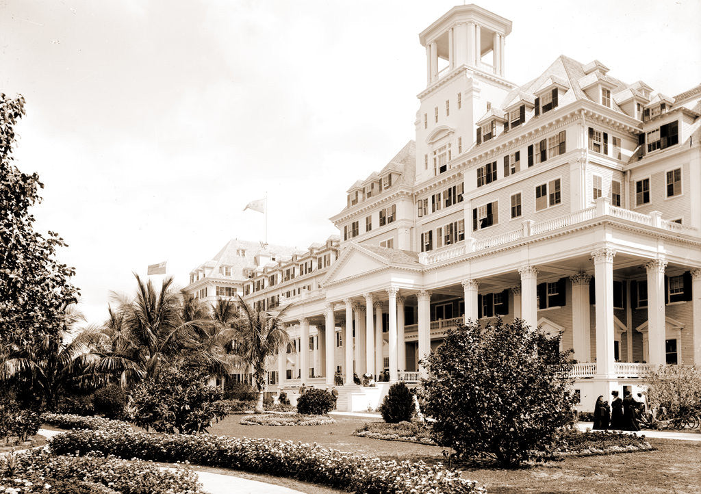 Detail of Hotel Royal Poinciana, Palm Beach by Anonymous