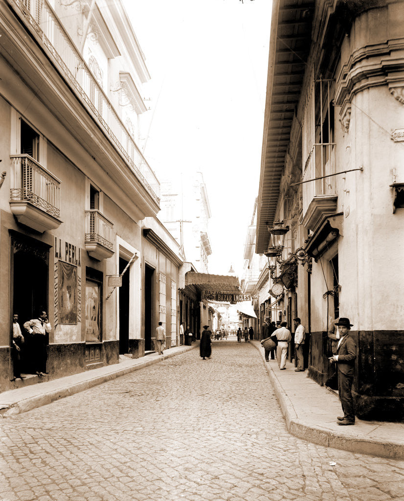 Detail of Havana Street, Havana by Anonymous