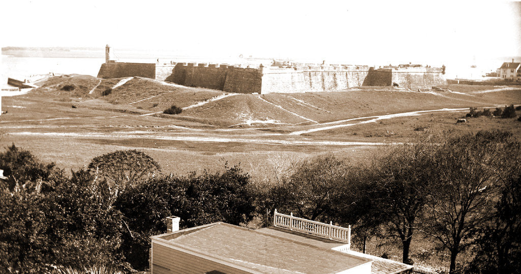 Detail of Fort Marion, Jackson by Anonymous