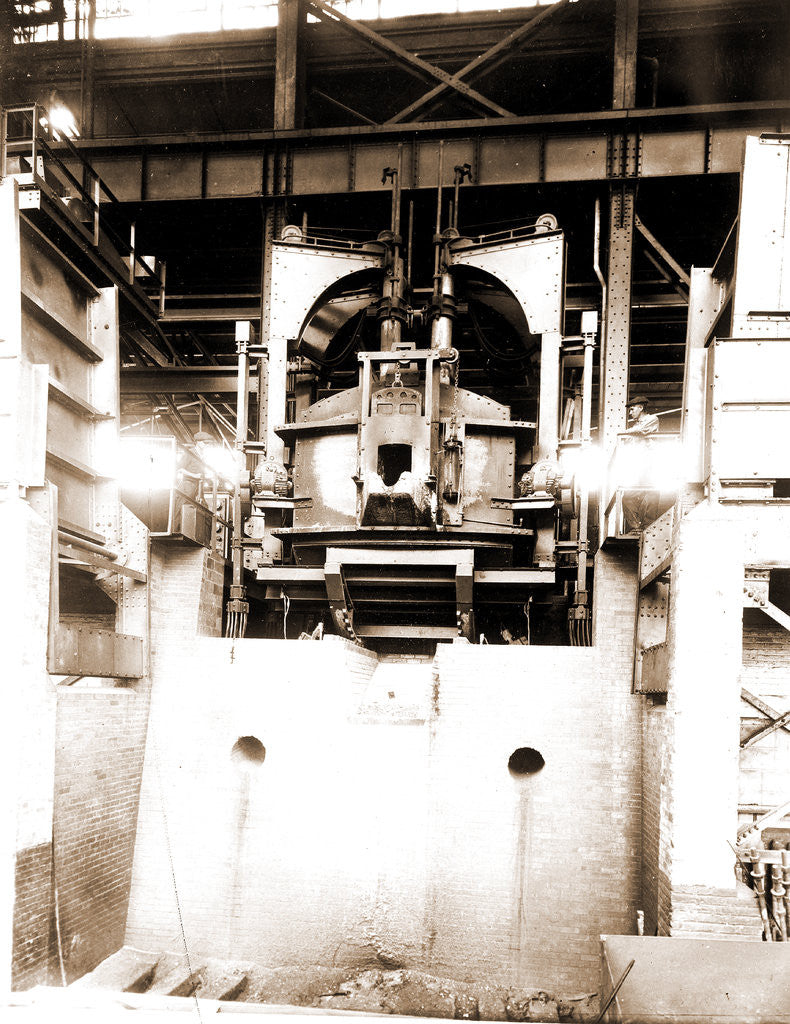 Detail of Blast furnace, Furnaces by Anonymous