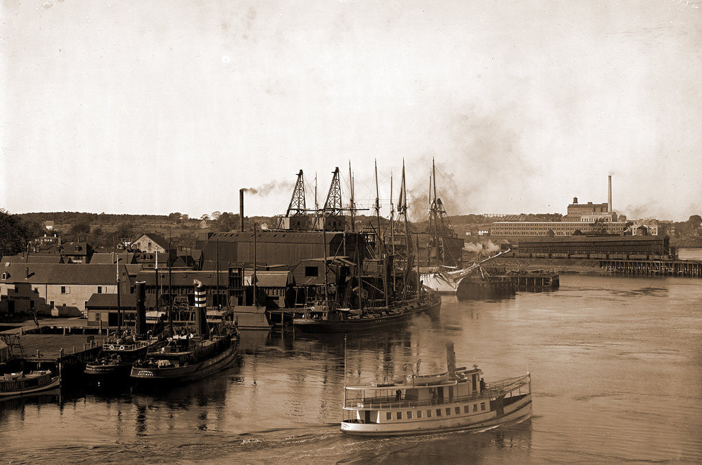 Detail of Coal wharves, Portsmouth by Anonymous
