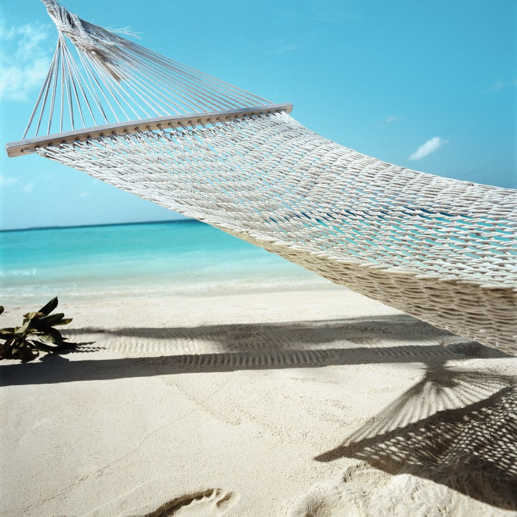 Detail of Hammock at the Beach by Corbis