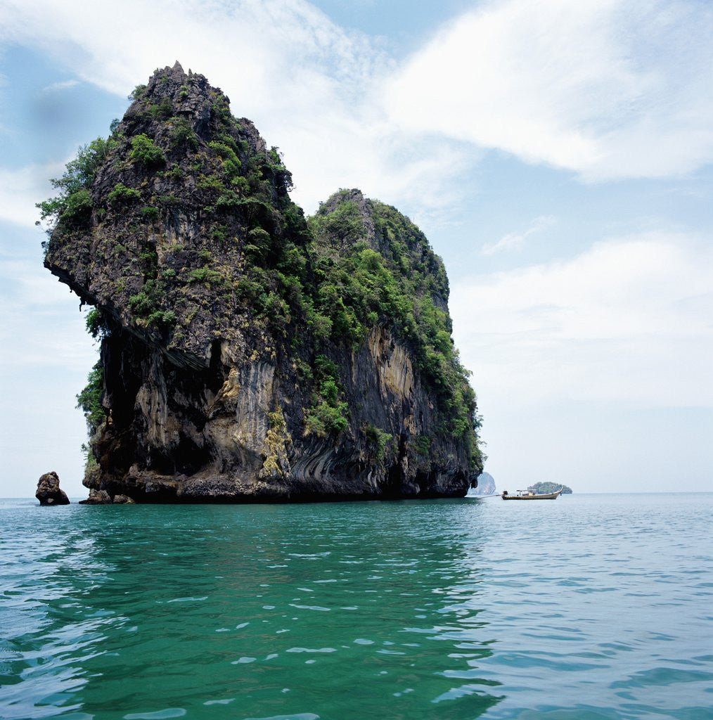 Detail of Coastline Thailand by Corbis