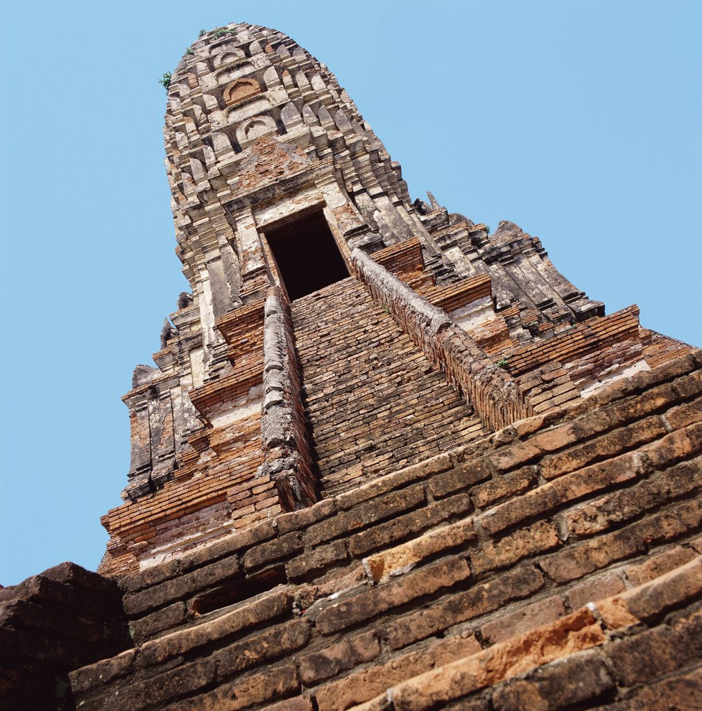 Detail of Ancient Buddhist Temple Thailand by Corbis