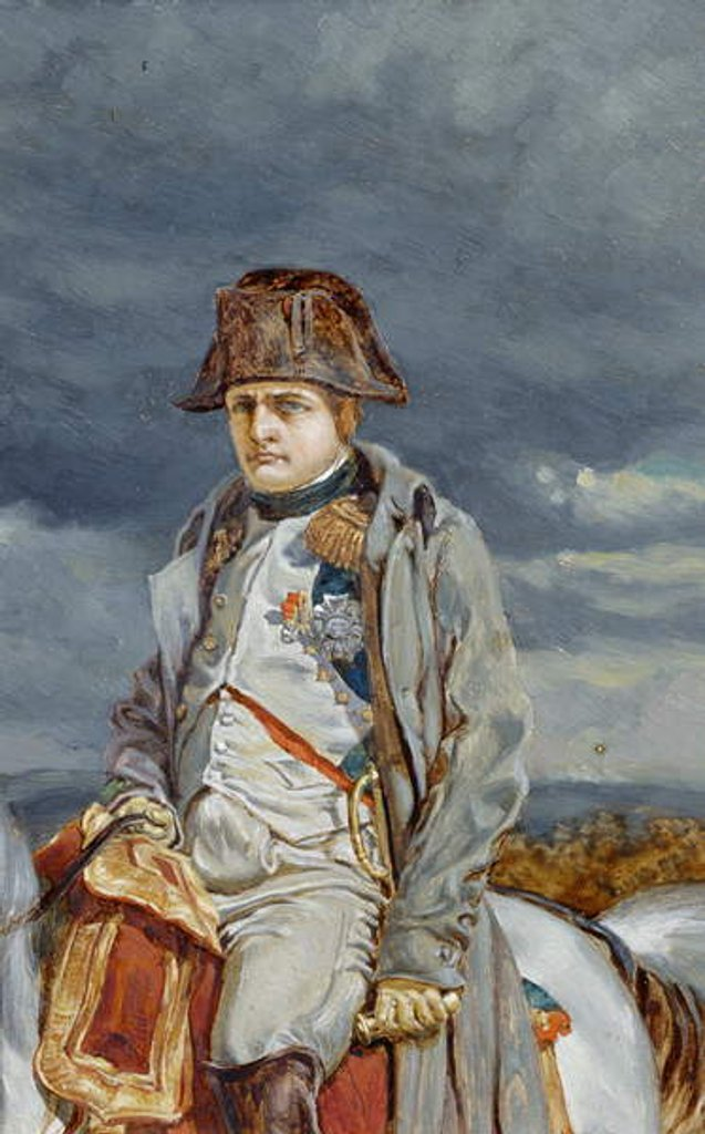 Detail of Napoleon in 1814 by William Gersham Collingwood