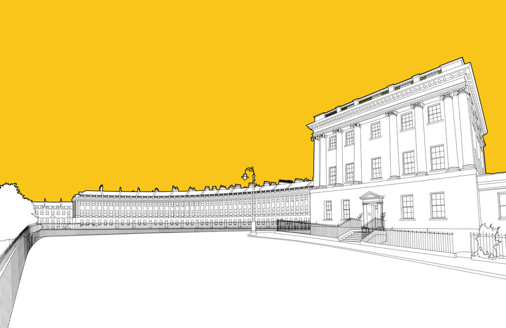 Detail of Royal Crescent by People Will Always Need Plates