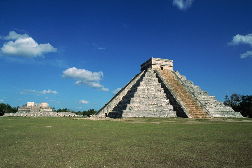 Detail of Buildings at Chichen-Itza by Corbis