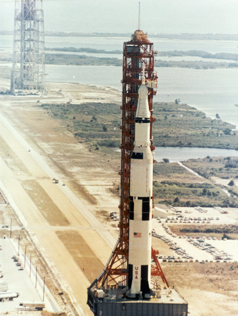 Detail of Before Launch of Apollo 10 by Corbis