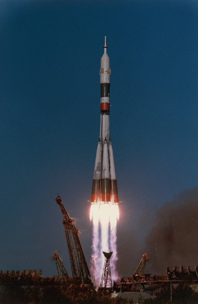 Image result for soyuz t-13 launch