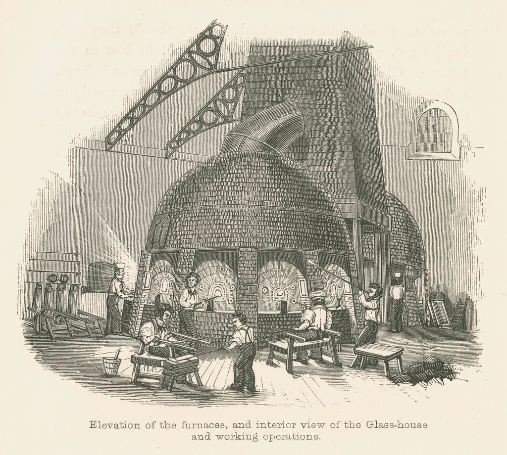 Falcon Glassworks, Blackfriars by unknown