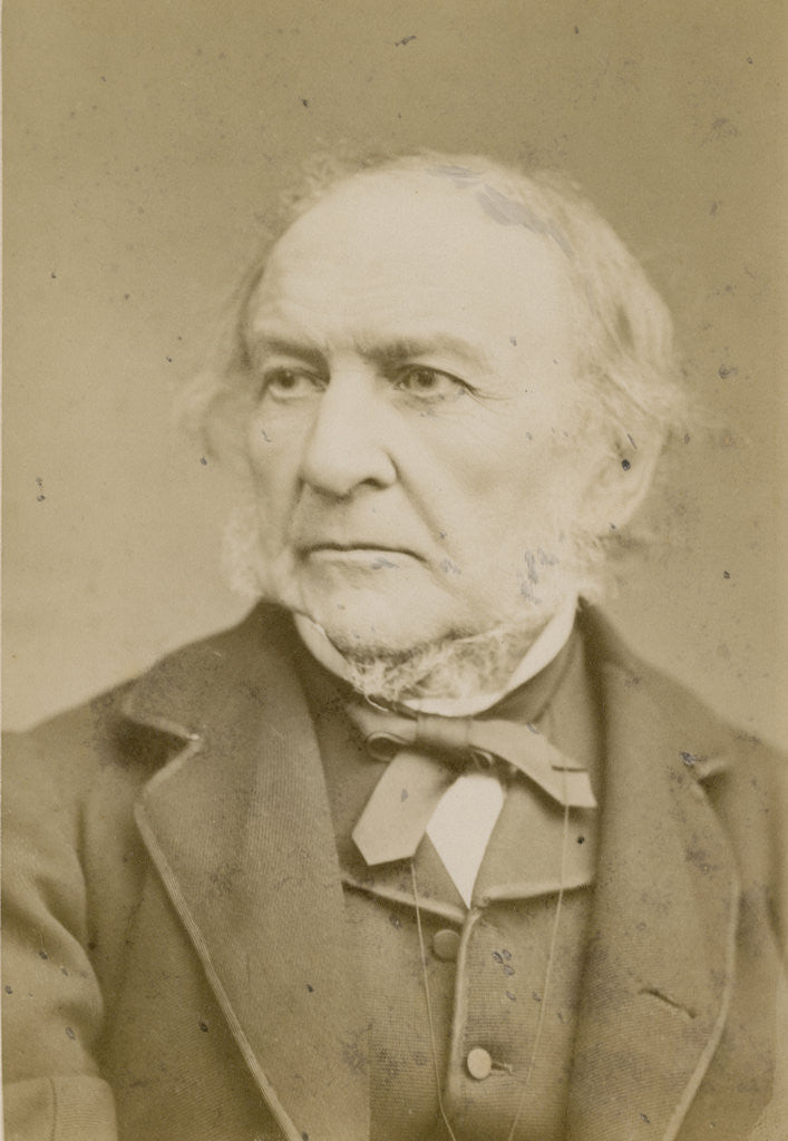 Detail of Portrait of William Ewart Gladstone (1809-1898) by Elliott & Fry