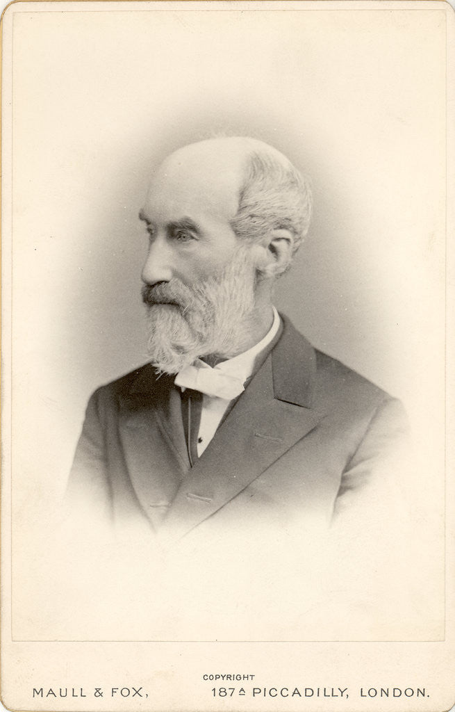 Portrait of Thomas George Bonney (1833-1923) by Maull & Fox