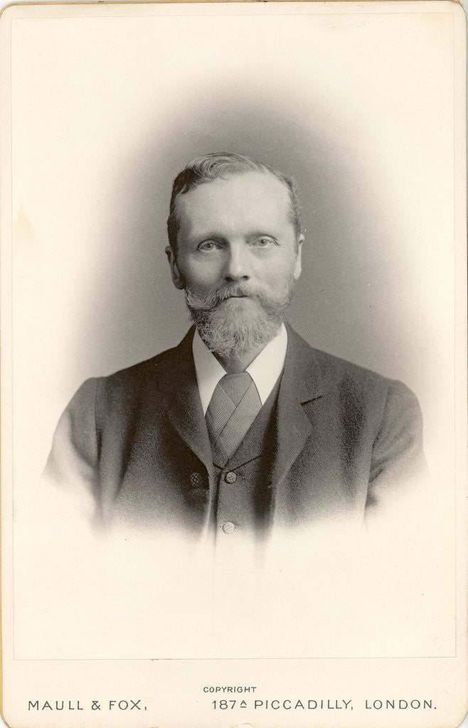 Portarit of George James Burch (1852-1914) by Maull & Fox