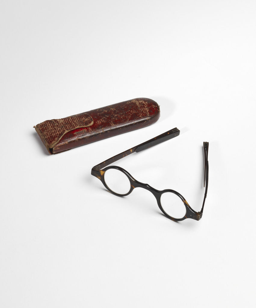Detail of Joseph Priestley's spectacles by Anonymous