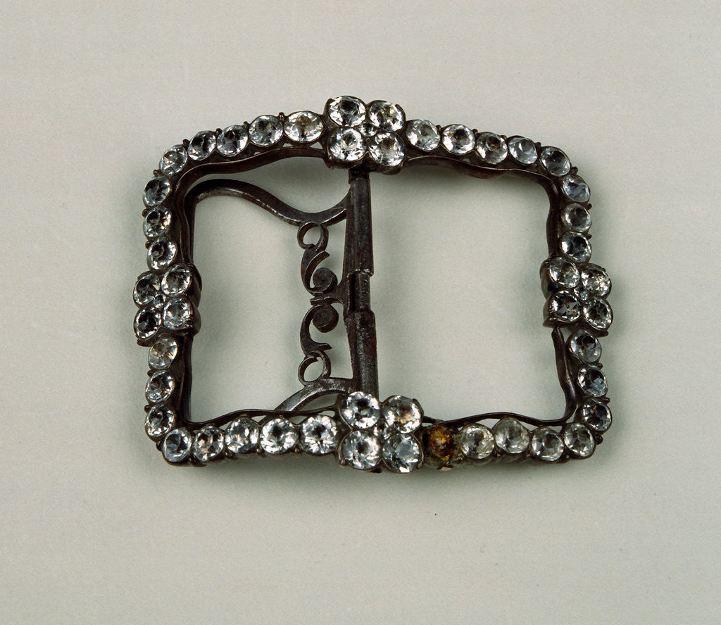 Detail of Shoe buckle by Anonymous