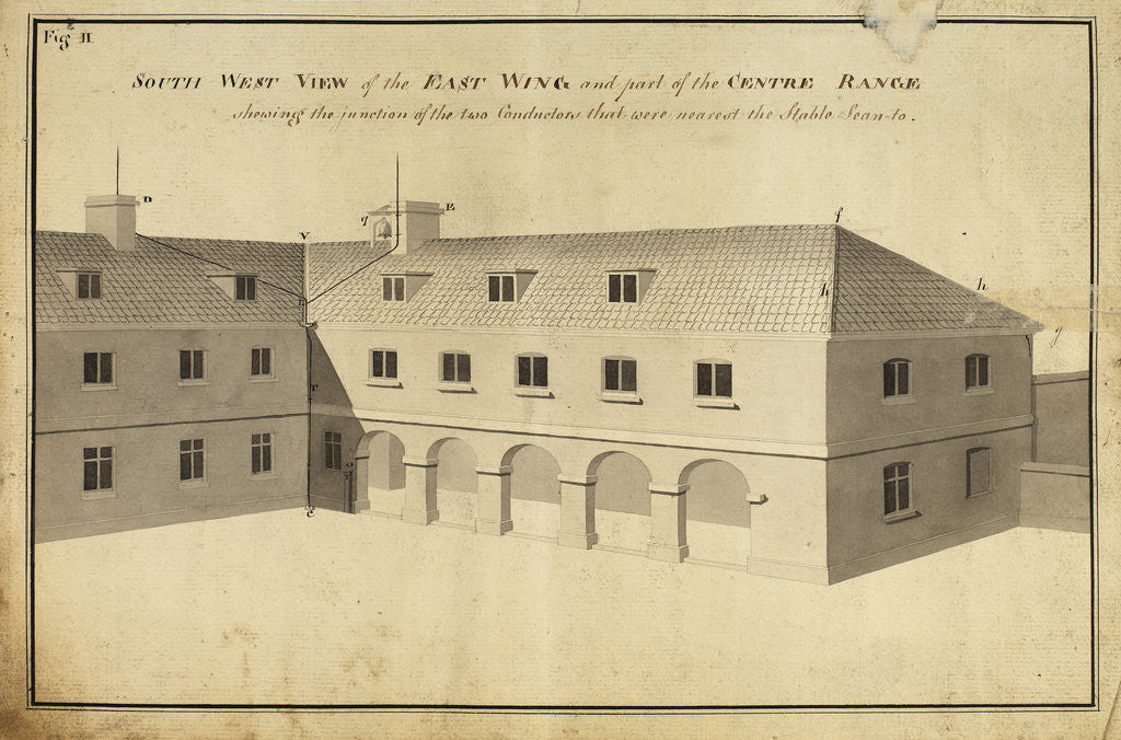 Detail of South west view of the East Wingà [of Heckingham Workhouse, Norfolk] by Anonymous