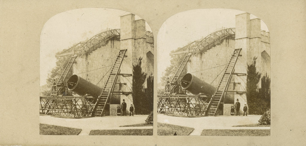 Detail of Lord Rosse's telescope at Birr Castle, Ireland by Countess Mary of Rosse