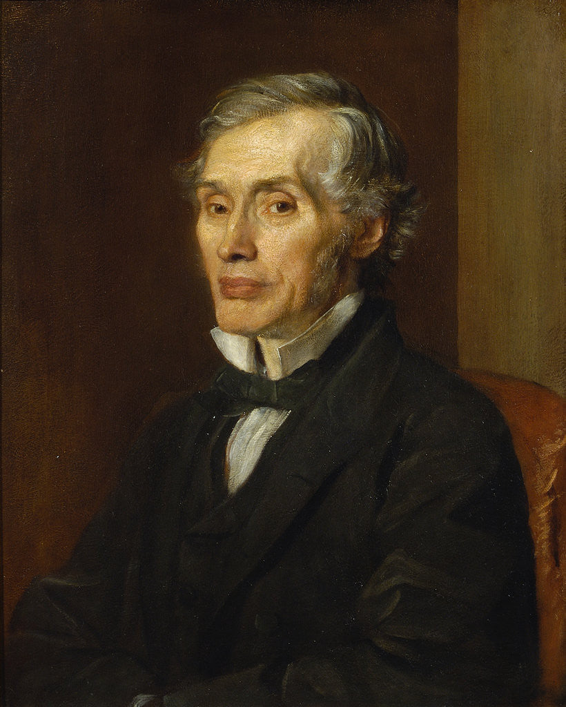 Detail of Portrait of Thomas Graham (1805-1869) by George Frederick Watts