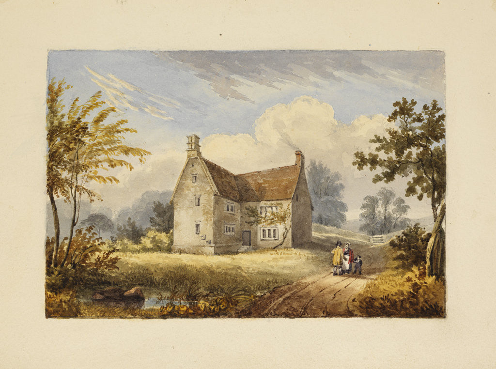 Detail of Woolsthorpe Manor by Thomas Howison