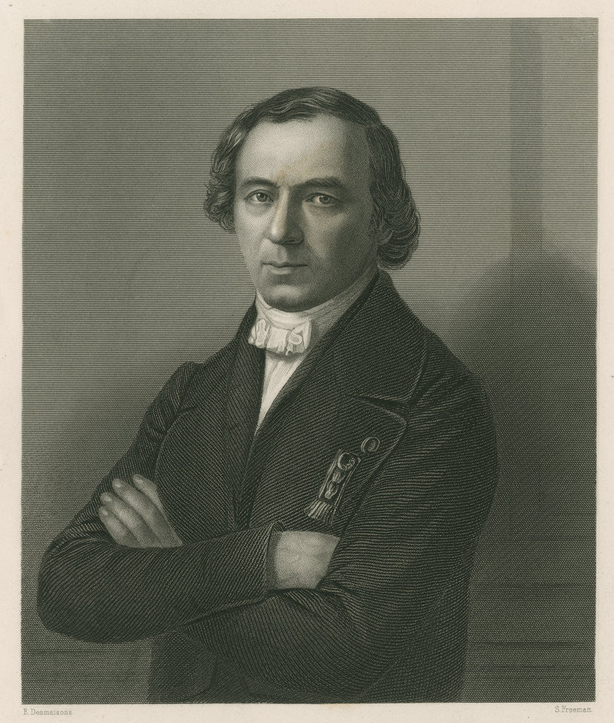 Portrait of Jean Baptiste Andre Dumas (1800-1884) by Samuel Freeman