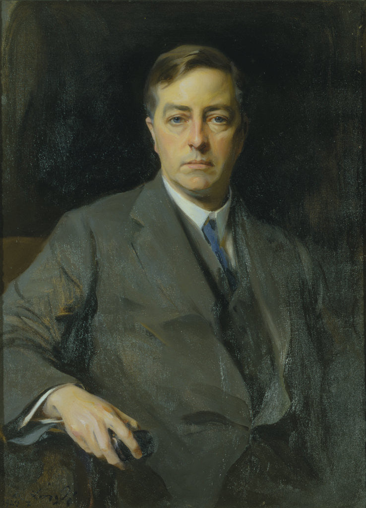 Detail of Portrait of James Jeans (1877-1946) by Philip Alexius De László