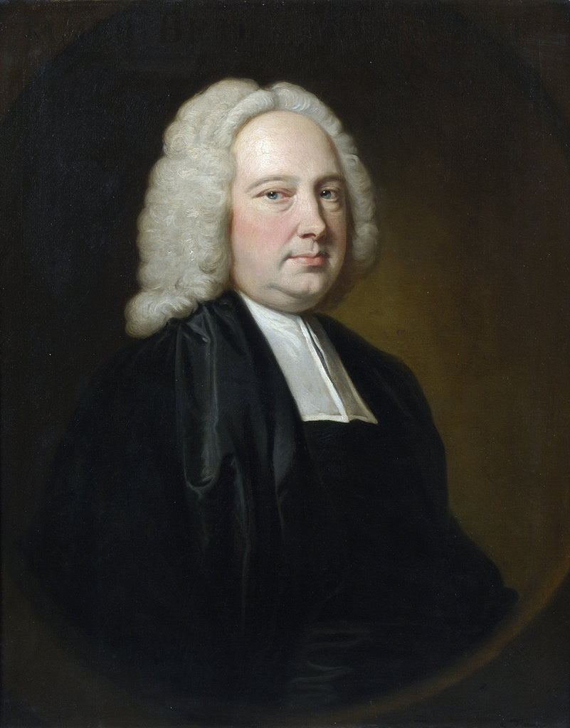 Detail of Portrait of James Bradley (1692-1762) by Thomas Hudson