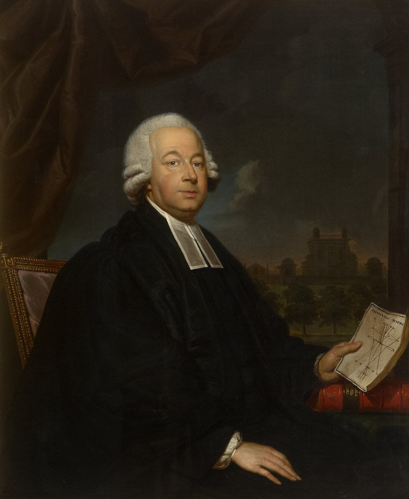 Portrait of Nevil Maskelyne (1732-1811) by Gerard van der Puyl