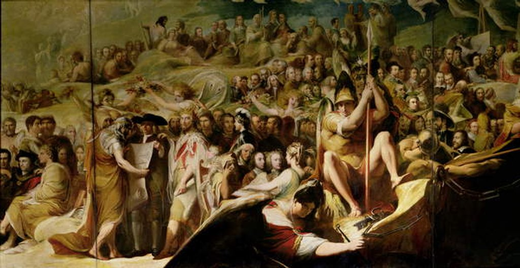 Detail of Elysium, or the State of Final Retribution by James Barry