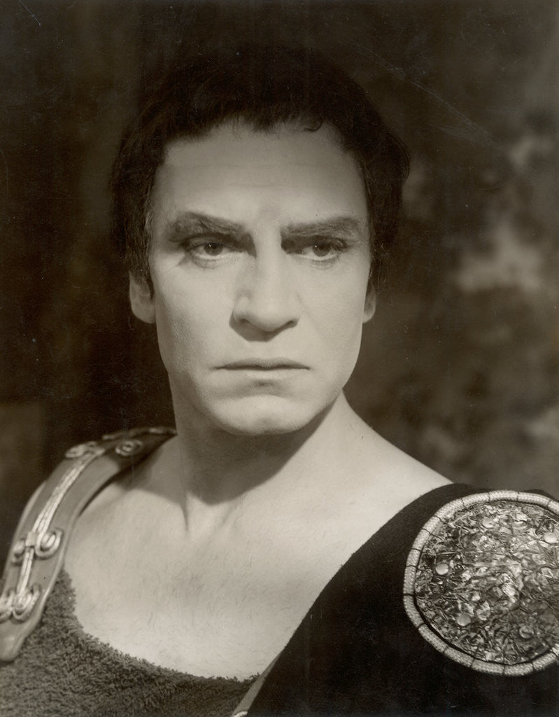 Detail of Coriolanus 1959, Laurence Olivier as Coriolanus by Angus McBean